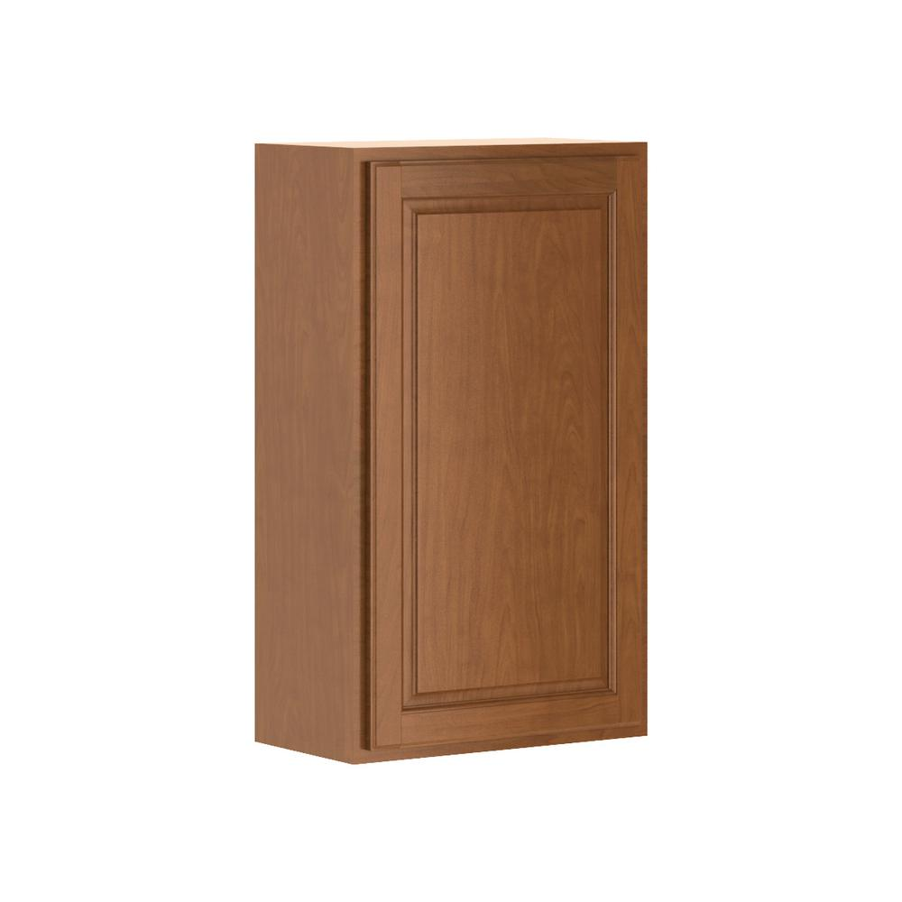 Madison Base Cabinets In Cognac: Hampton Bay Madison Assembled 21x36x12 In. Wall Cabinet In