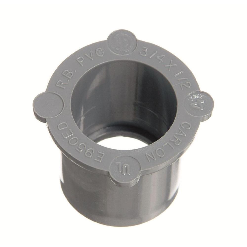 Carlon 2-1/2 in. x 2 in. PVC Reducer Bushing (Case of 10)