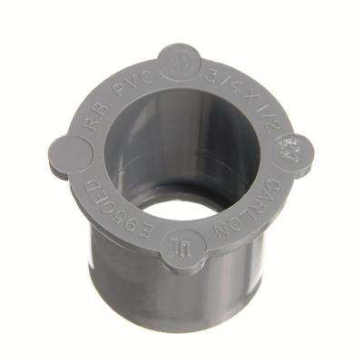 2-1/2 in. x 2 in. PVC Reducer Bushing (Case of 10)