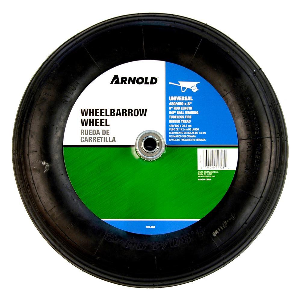 Universal 15.5 in. Pnuematic Wheelbarrow Wheel
