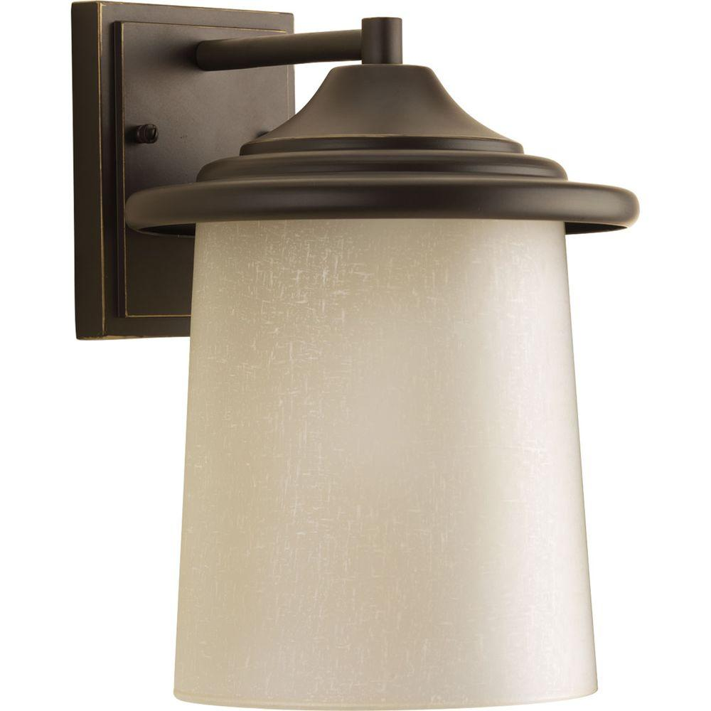 Essential Collection 1-Light Antique Bronze Outdoor Wall Lantern