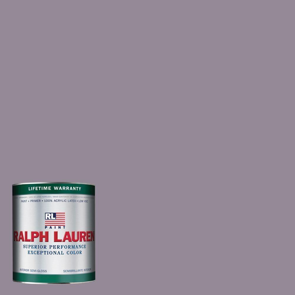 Ralph Lauren 1-qt. Kensington Purple Semi-Gloss Interior Paint