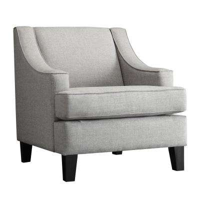 Watson Grey Linen Arm Chair