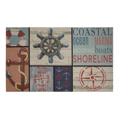 Sailor's Life Multi 18 in. x 30 in. Door Mat