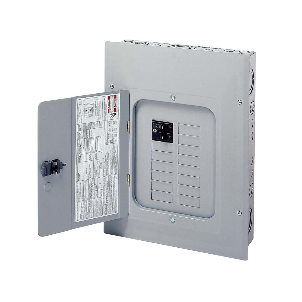 Eaton BR 100 Amp 12 Space 20 Circuit Indoor Main Breaker Loadcenter