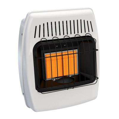 12,000 BTU Infrared Vent Free Natural Gas Wall Heater