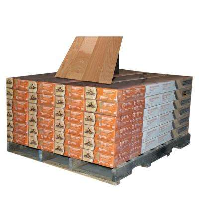 Hickory Natural 3/8 in. Thick x 4-1/4 in. Wide x Random Length Engineered Click Wood Flooring (480 sq. ft. / pallet)