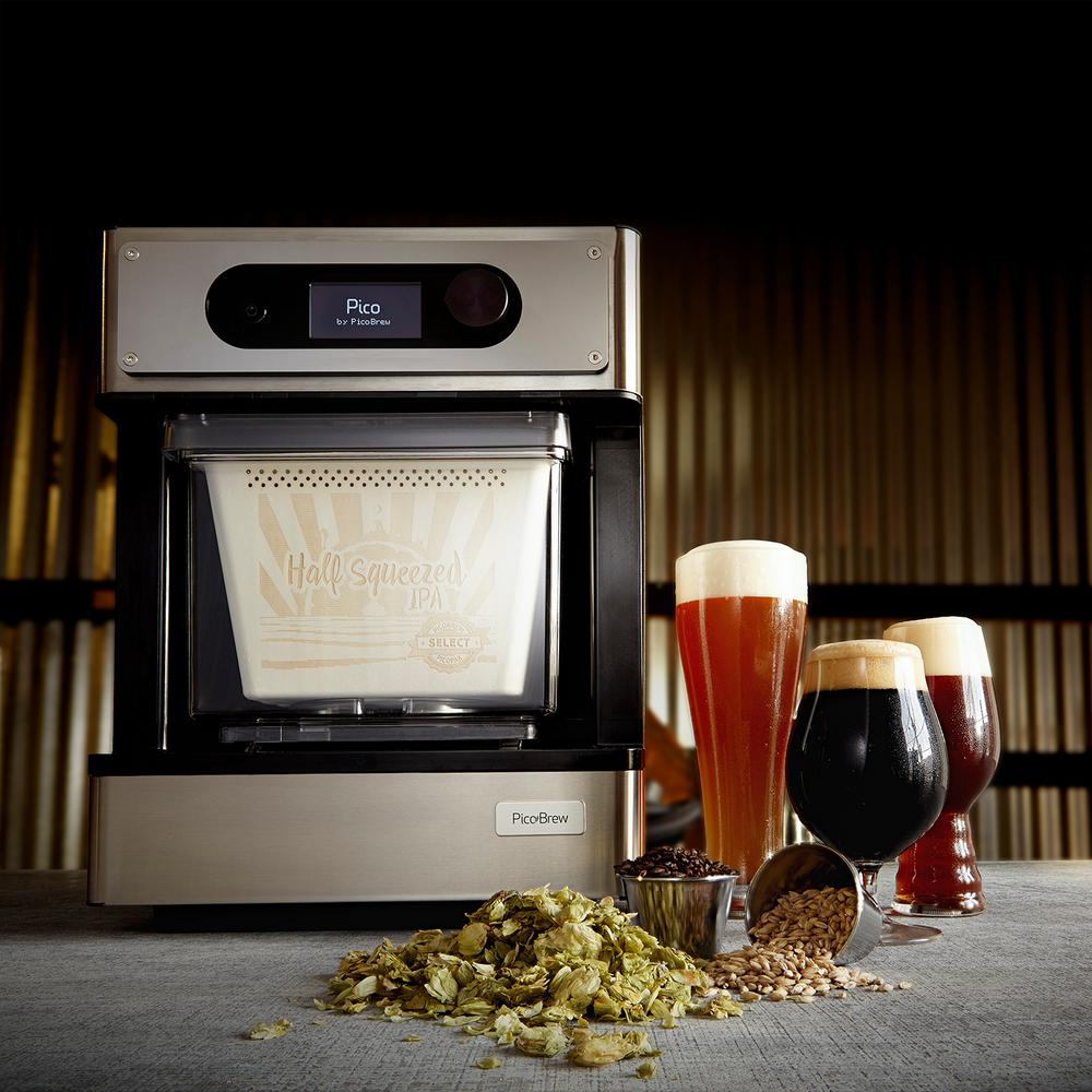 Home wine making and beer brewing recipes quality wine - Picobrew Pico Pro Craft Beer Brewing Appliance Picopros01 The Home Depot