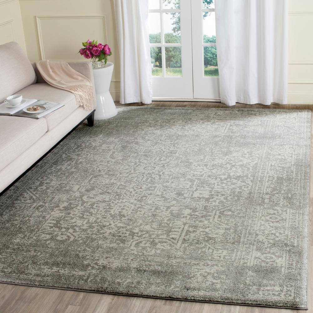 safavieh evoke silverivory 10 ft x 14 ft area rug