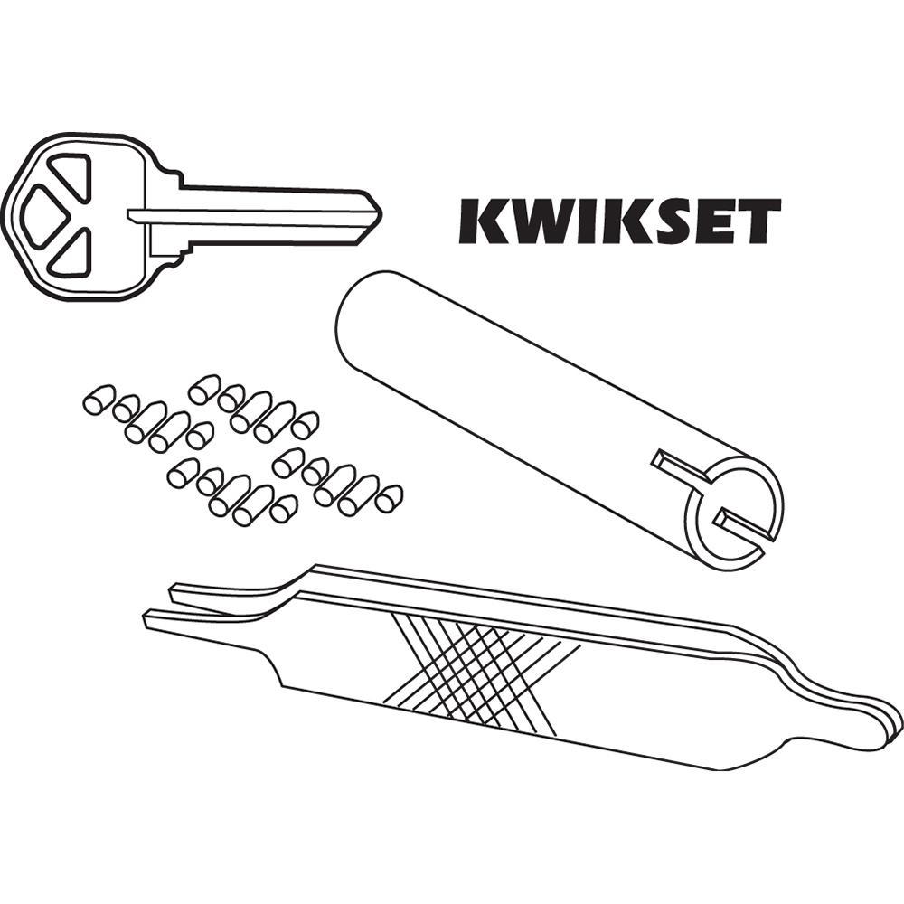 Lock Cylinder Rear Cap Installation /& Removal Tool for Rekeying Locks fits Schlage /& Others