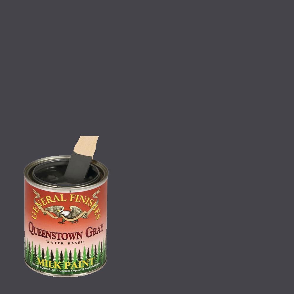 1-qt. Queenstown Gray Interior/Exterior Milk Paint