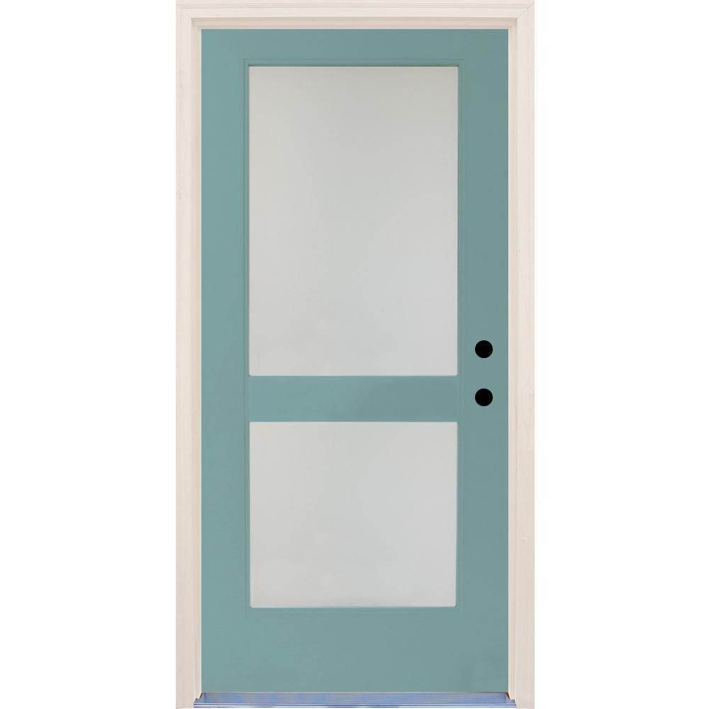 Satin Glass Door : Builder s choice in elite surf satin etch