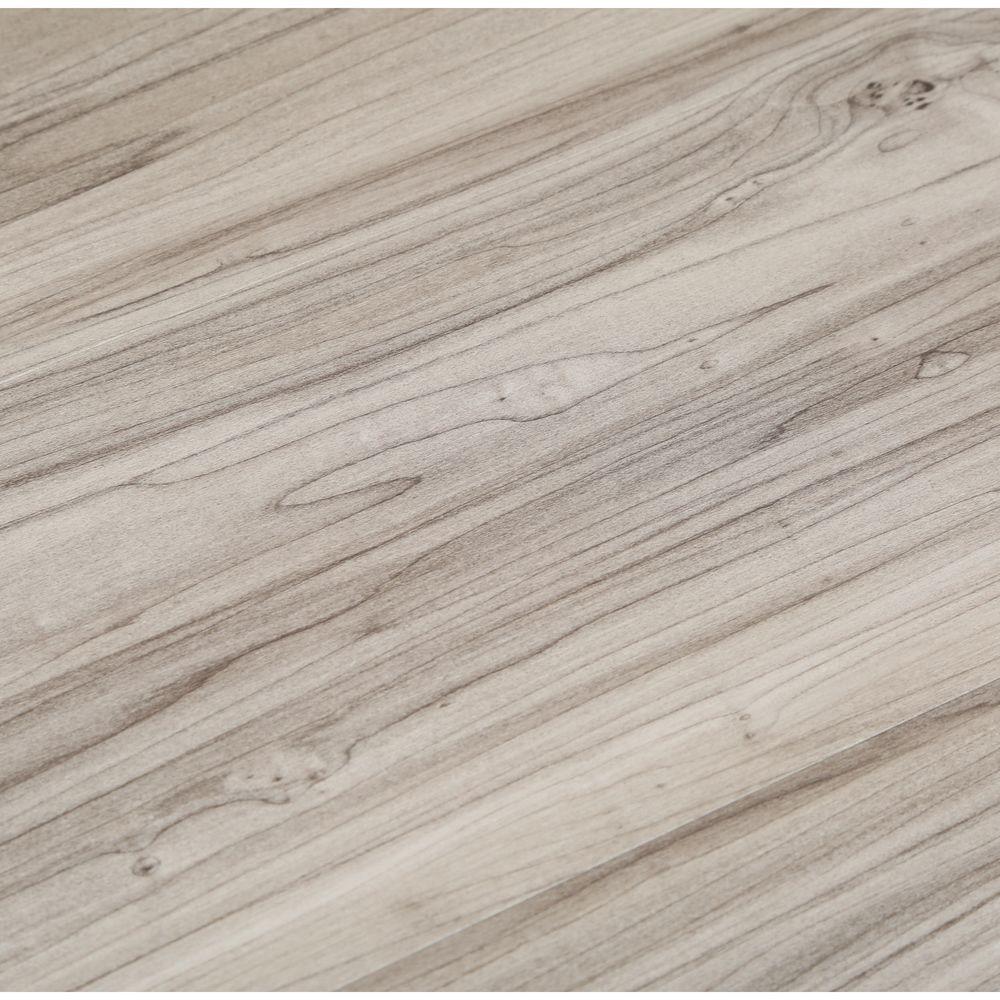 TrafficMASTER Take Home Sample - Dove Maple Luxury Vinyl Plank Flooring - 4 in. x 4 in.