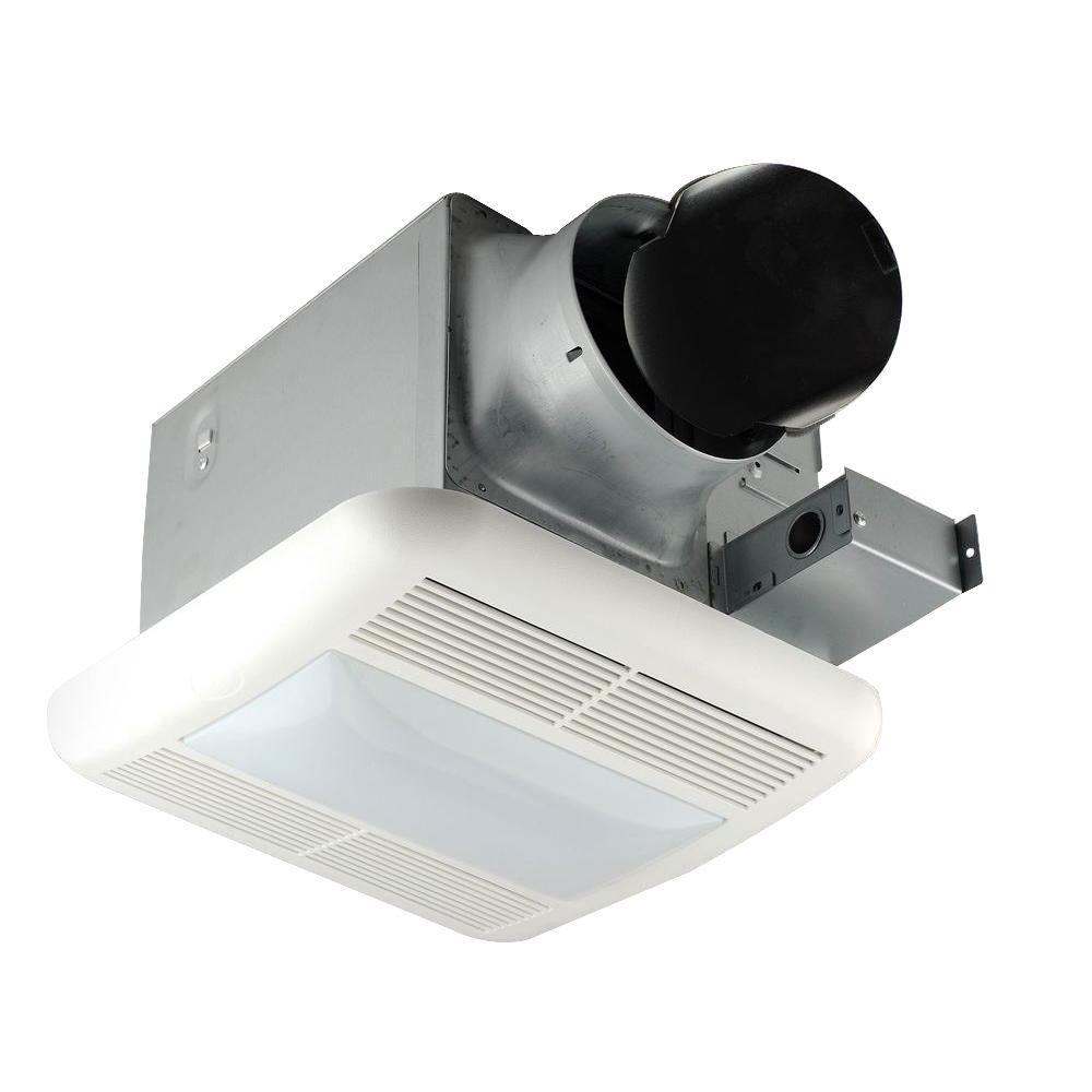 Hampton Bay 140 Cfm Ceiling Exhaust Bath Fan Bpt18 54l 1 The Home Wiring With Light And Nightlight