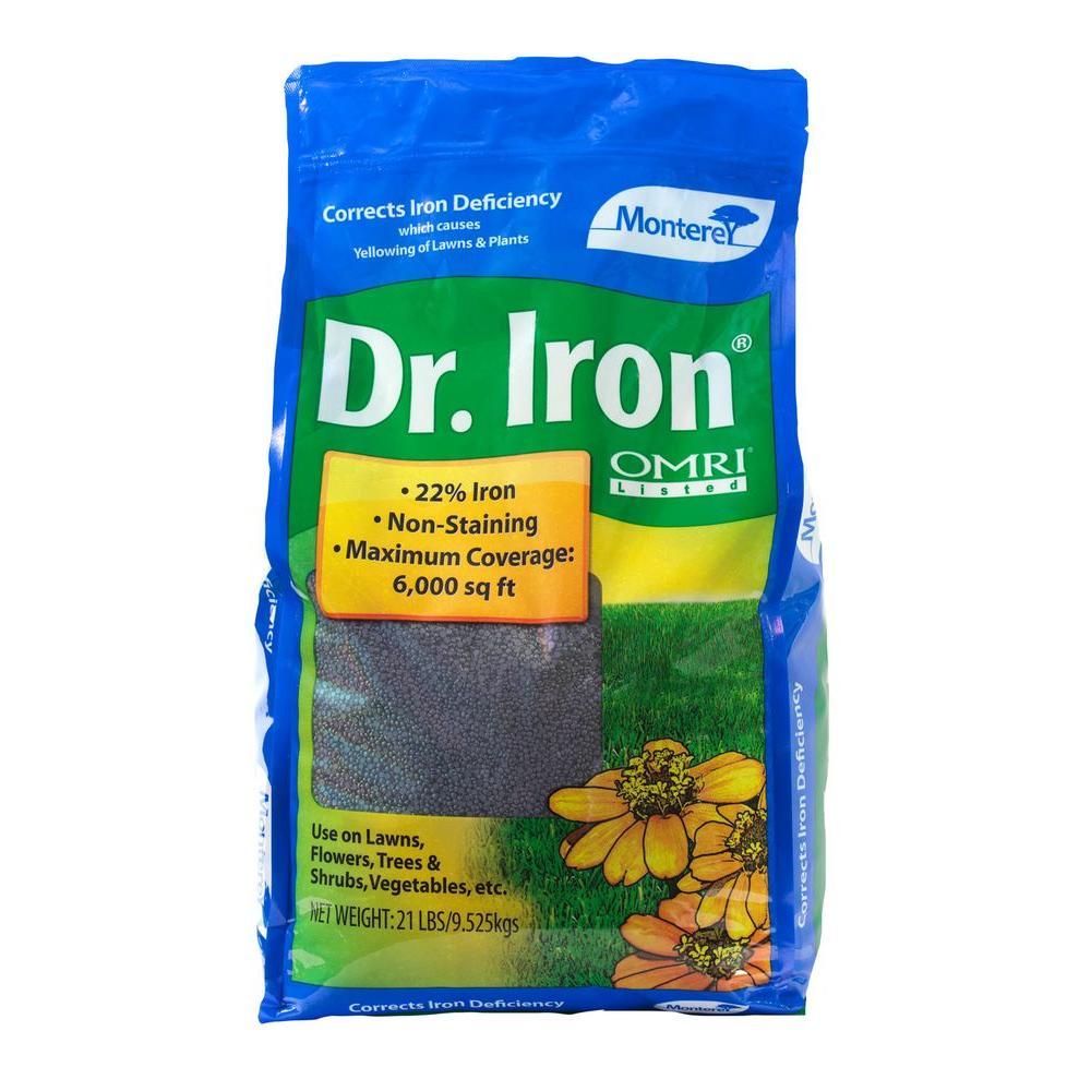 Dr. Iron 21 lb. Organic Lawn Pellets