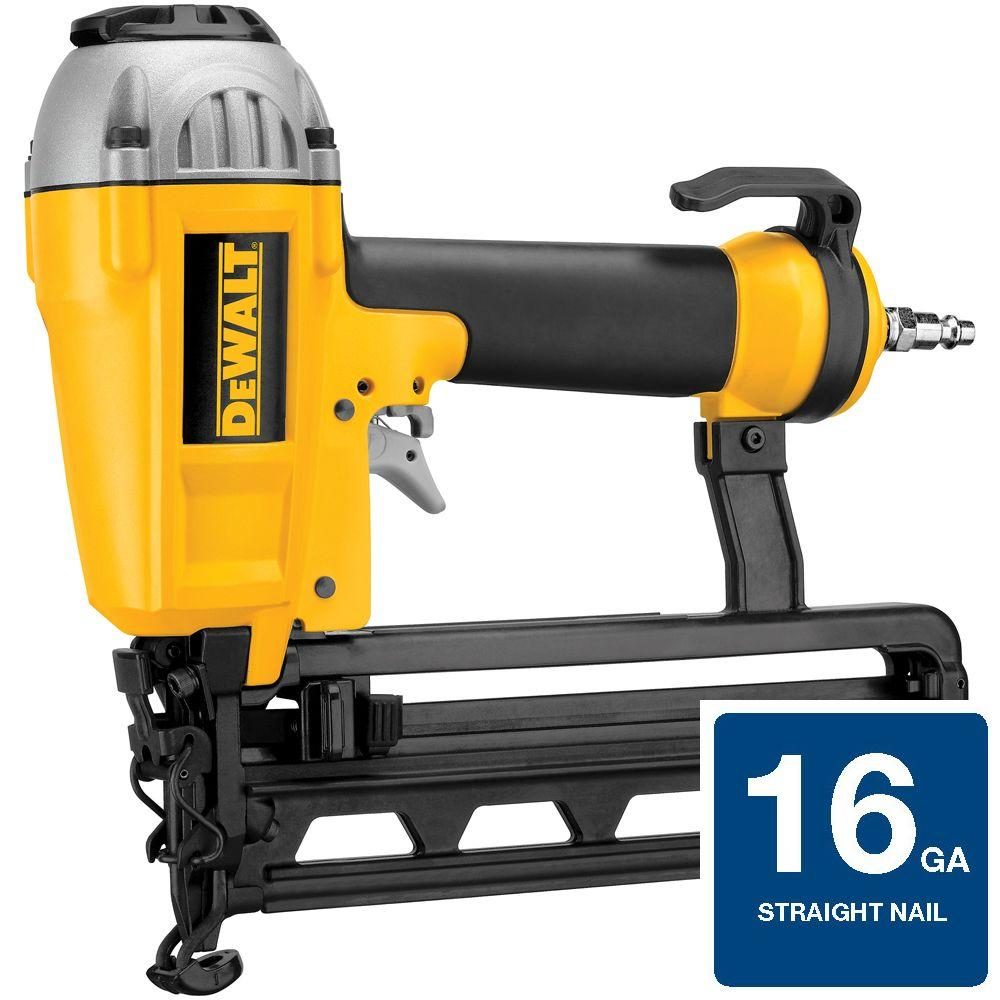 dewalt 16-gauge pneumatic 1 in. - 2-1/2 in. nailer