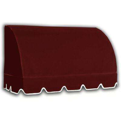 6.375 ft. Savannah Window/Entry Awning (44 in. H x 36 in. D) in Burgundy