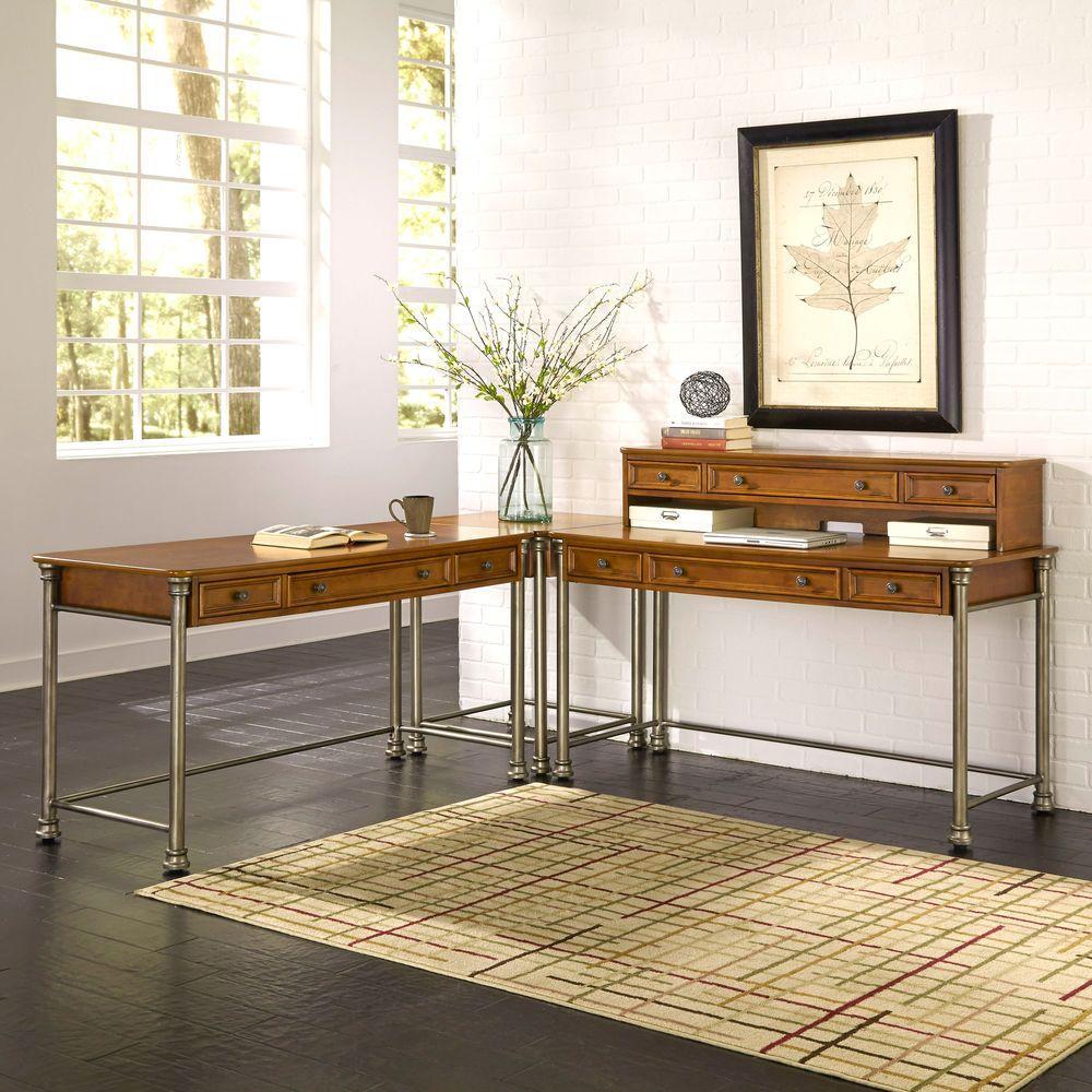 Brown - Corner Unit - Home Styles - Desks - Home Office Furniture ...