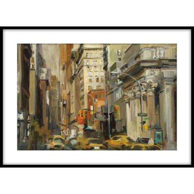 9.75 in.x11.75 in. ''Union Square NY'' Framed Wall Art