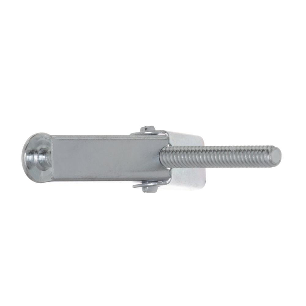 Drill Bit//Hole Size 1//4 Screw Size 1//4-20 x 4 Carton: 50 pcs 5//8 1//4 x 4 Toggle Bolts//Mushroom Head//Combo Drive//Steel//Zinc//Anchor Size