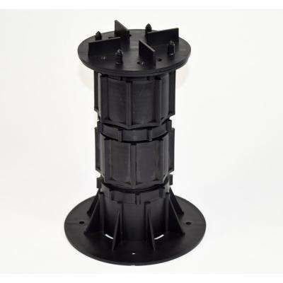 DTG-S6 7.67 in. x 12.80 in. Deck Wise Compatible Plastic Adjustable Pedestal Support (8-Pack)