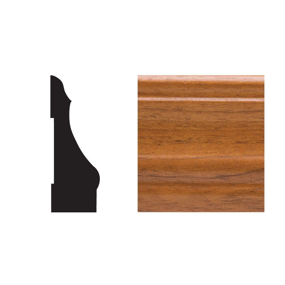 5445 9/16 in. x 2-1/4 in. x 7 ft. PVC Gunstock Colonial Casing