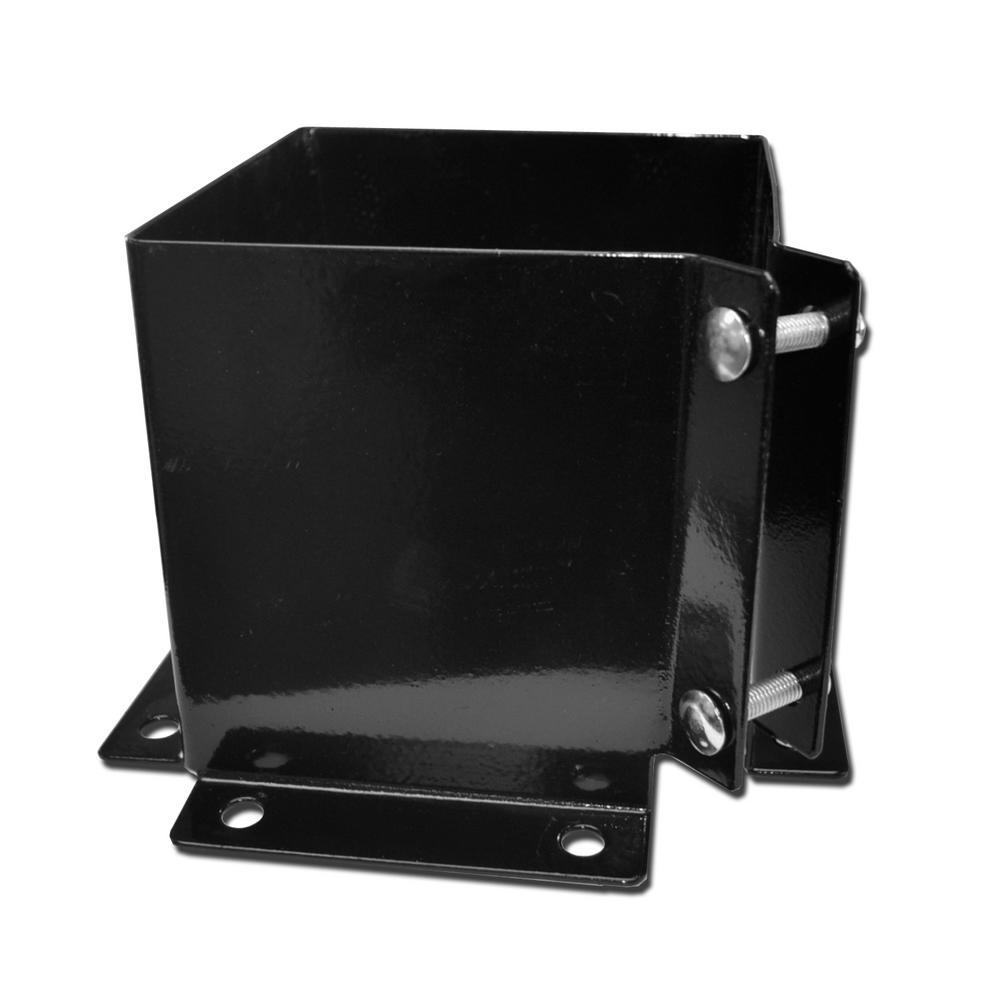 10 Pack Pylex 10565 Adjustable Helical Post Black