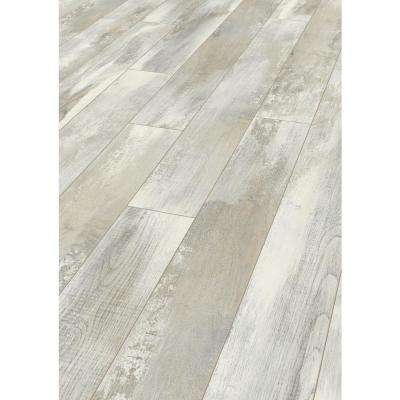 Take Home Sample - Lanwell Tan Oak Laminate Flooring - 5 in. x 7 in.
