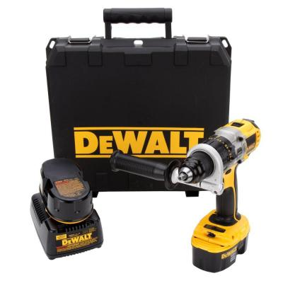 18-Volt XRP Ni-Cd Cordless Drill/Driver with (2) Batteries 2.4Ah, 1-Hour Charger and Case