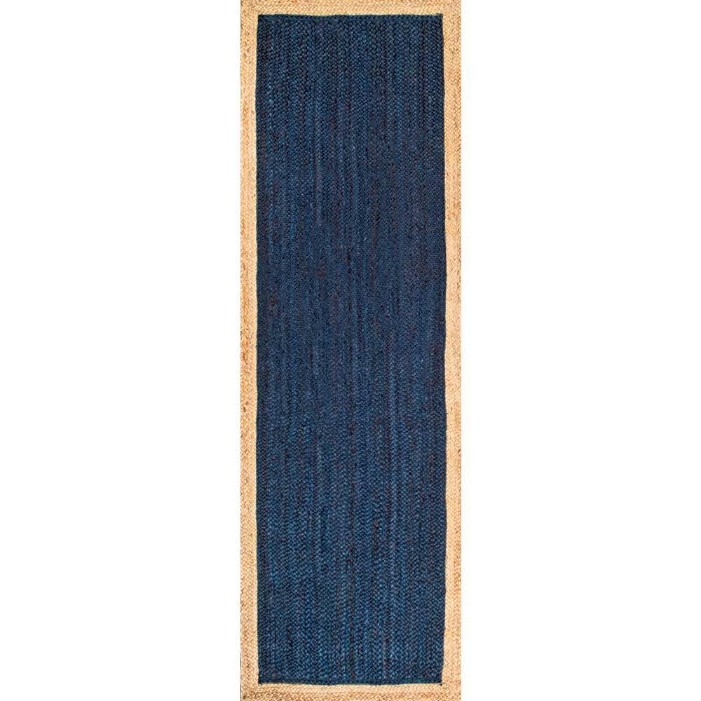 Eleonora Blue 3 ft. x 8 ft. Runner Rug