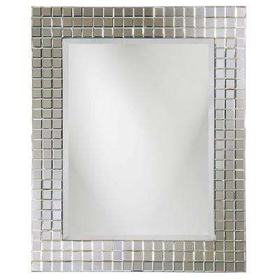 42 in. H x 52 in. W Michael Mosaic Mirror
