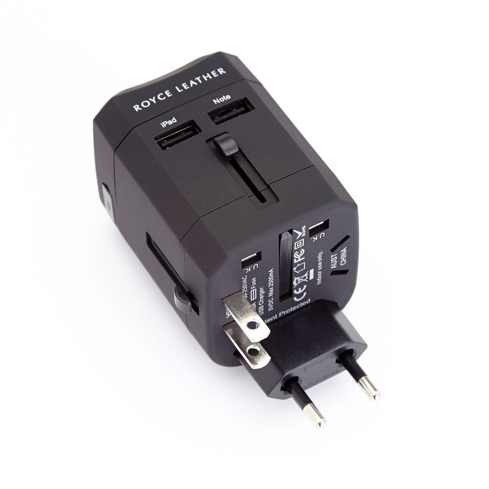 Royce International Travel Adapter Wall Plug