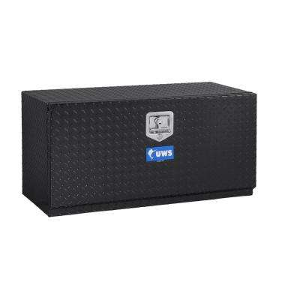 36 in. Aluminum Black Underbody Single Door Tool Box