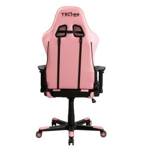 Super Techni Sport Pink Gaming Chair Rta Ts43 Pnk The Home Depot Machost Co Dining Chair Design Ideas Machostcouk