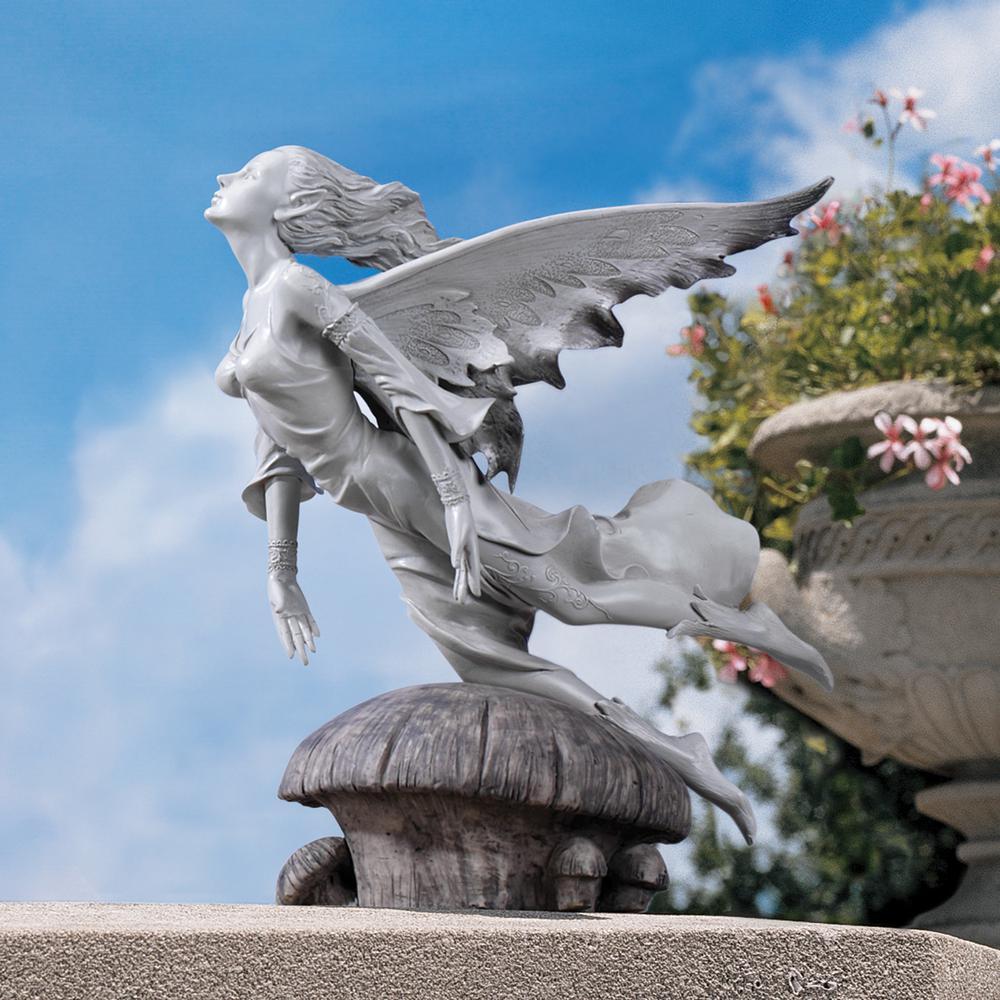 Garden Statue Fairy: Design Toscano 11 In. H Enchanted Flight Of The Garden