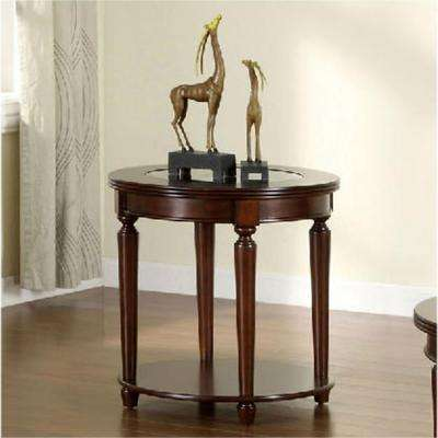 Granvia Dark Cherry End Table