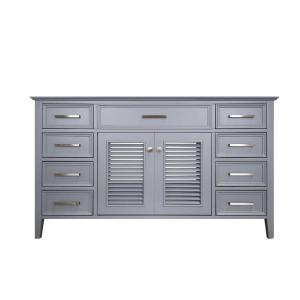 Bath Vanity Cabinet Only In Grey