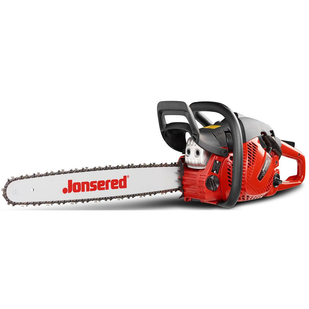 jonsered cs2250 20 in 50 2cc gas chainsaw 967208903 the home depot