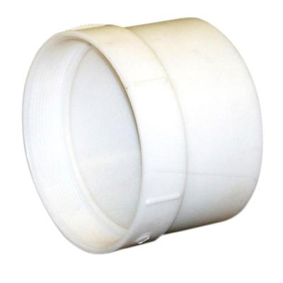 4 in. PVC Sewer and Drain Hub x FPT Adapter