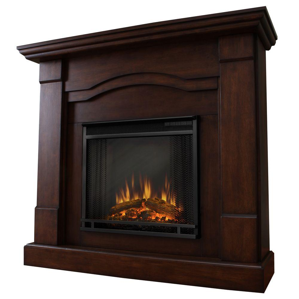 Real Flame Frisco 47 in. Electric Fireplace in Espresso-DISCONTINUED