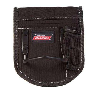 1-Pocket Steel Loop Hammer Holder Tool Pouch, Black