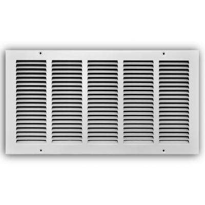 20 in. x 10 in. White Return Air Grille