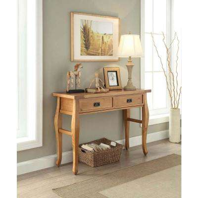 Santa Fe Antique Pine Storage Console Table