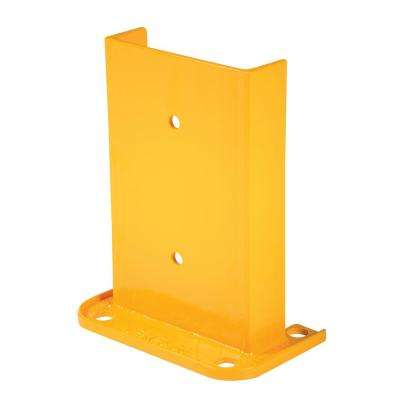 12 in. Wide Yellow Steel Structural Rack Guard