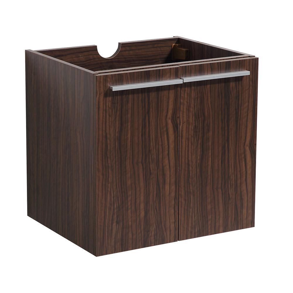 Alto 23 in. Bathroom Vanity Cabinet Only in Walnut