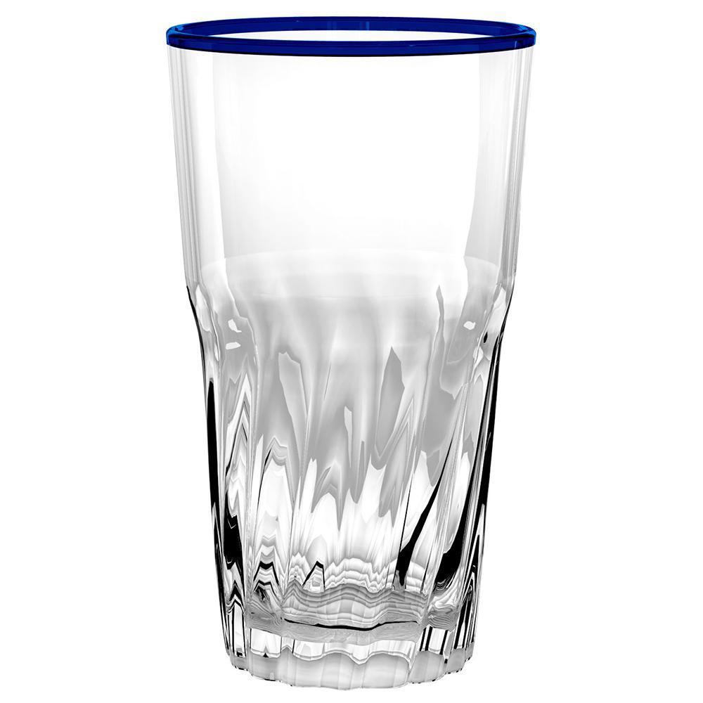 Cantina Blue Jumbo Glass (Set of 6)