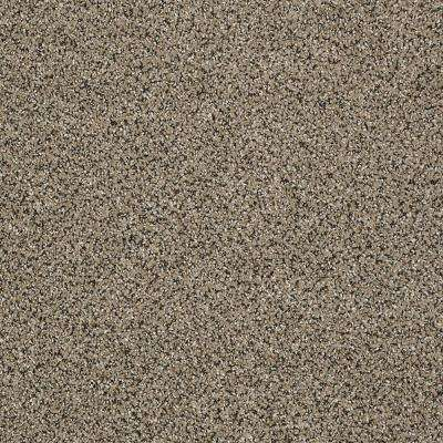 Big Ticket - Color Rocky Shore Texture 12 ft. Carpet