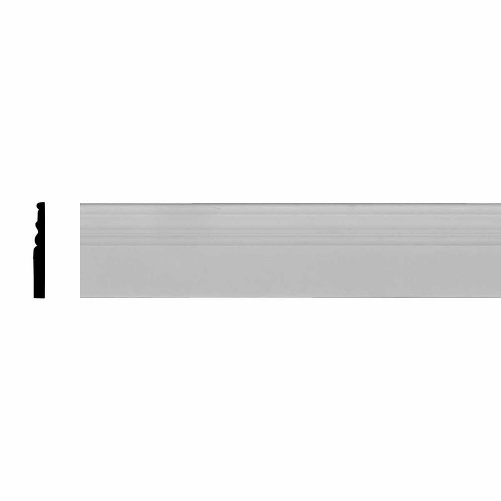 1/2 in. x 4-1/2 in. x 94-1/2 in. Polyurethane Kepler Baseboard