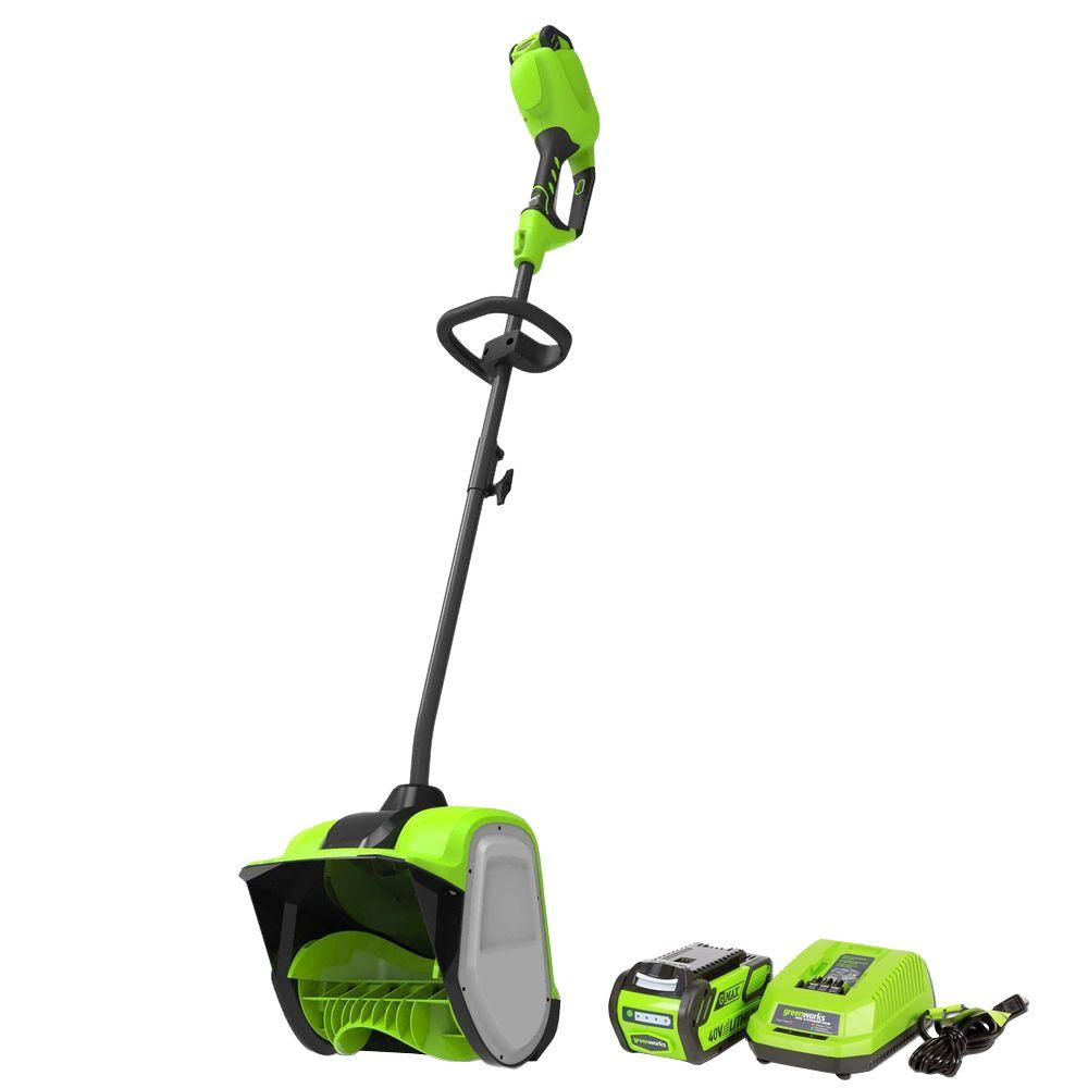 Greenworks Digi-Pro Gmax 12 in. 40-Volt Cordless Electric...