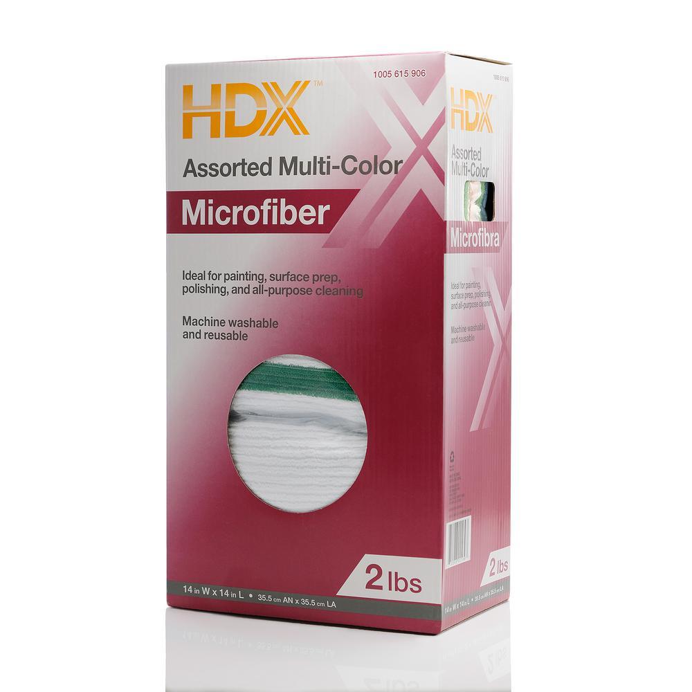 2 lbs. Microfiber Rags